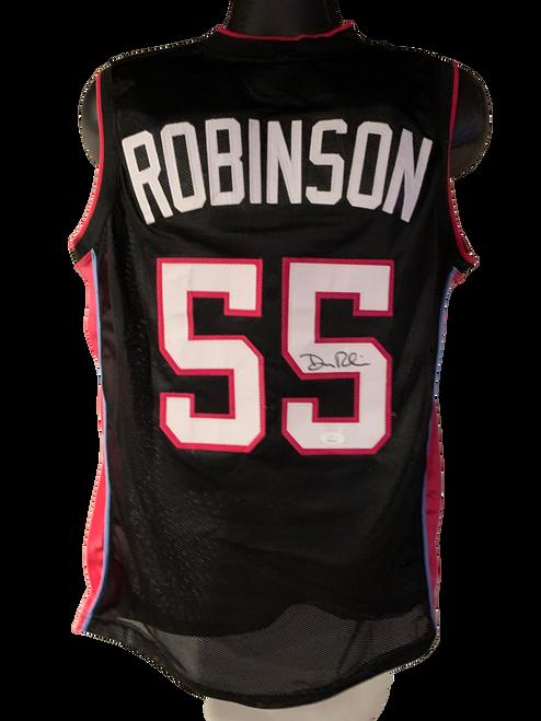 Duncan Robinson Authentic Autographed Miami Heat Black Custom Jersey - JSA COA