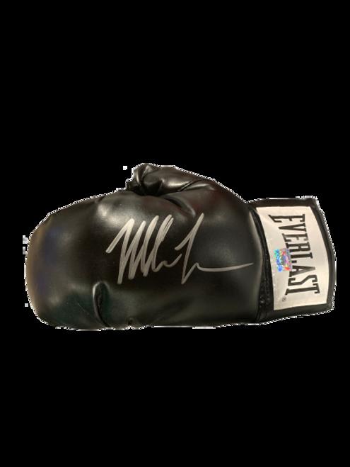Mike Tyson Authentic Autographed Black Everlast Boxing Glove - Tyson COA
