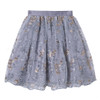 Asma Gray Skirt Set