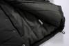 Boy Hooted Winter Jacket - Black Color