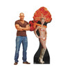 Life-size Vegas Show Girl Cardboard Standup