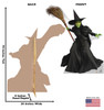 Wicked Witch of the West - Wizard of Oz 75th Anniversary - Cardboard Cutout