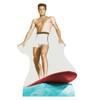 Life-size Elvis Surfing Cardboard Standup