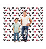 Life-size Mickey and Minnie Ears Step and Repeat - Double Wide Cardboard Standup 3