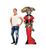 Life-size Day of the Dead Women Cardboard Standup 2