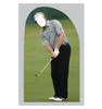 Life-size Golfer Stand-in Cardboard Standup