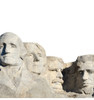 Life-size Mount Rushmore National Monument Cardboard Standup