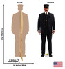 Conductor - The Polar Express - Cardboard Cutout 2116