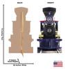 CP 60 Jupiter Train Cardboard Cutout