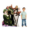 Munchkins cardboard cutout from the Wizard of Oz movie