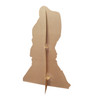 Life-size Ballroom Dancers Silhouette Cardboard Standup