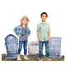 Life-size Tombstone Yard Signs - 3 Pack Cardboard Standup 2