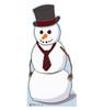 Life-size Snowman Cardboard Standup