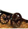 Life-size Civil War Cannon Cardboard Standup 2
