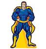 Superhero-Cardboard Cutout 1950