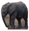 Life-size Baby Elephant Cardboard Standup | Cardboard Cutout