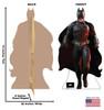Batman - Dark Knight Rises Cardboard Cutout Front and Back View