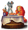 Lady and the Tramp-Cardboard Cutout 783
