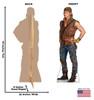 Life-size Gil (Descendants 2) Cardboard Standup