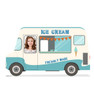 Life-size Ice Cream Truck Standin Cardboard Standup 3