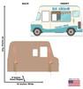 Ice Cream Truck Stand-In 2547