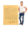 Life-size Declaration of Independence Cardboard Cutout Cardboard Standup 3
