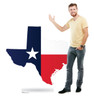 Life-size Texas State Cardboard Standup 2