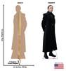 General Hux -Star Wars VIII The Last Jedi Cardboard Cutout 2536