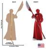 Praetorian Guard  -Star Wars VIII The Last Jedi Cardboard Cutout 2538