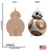 BB-8™ -Star Wars VIII: The Last Jedi Cardboard Cutout 2539