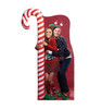 Ugly Christmas Sweater with Candy Cane Standin   Cardboard Cutout