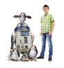 Porgs™ with R2-D2™ Life-Size Cardboard Cutout 2