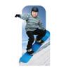 Action Snowboarder Standin-lifesize