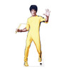Life-size Bruce Lee cardboard standee front view.