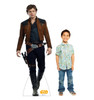 Han Solo™ Life-size cardboard standee with model.