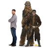 Han Solo™ and Chewbacca™ Cardboard Cutout 2665
