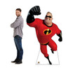 Mr. Incredible Life-size cardboard standee with model.