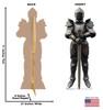 Knight in Armor Cardboard Cutout  2747