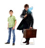 Newt Scamander Lifes-size Cardboard Standee with Model.
