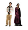 Leta Lestrange Lifes-size Cardboard Standee Front and Back with Dimensions.