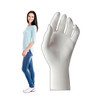 Life-size cardboard standee of a Ceramic Hand with model.