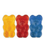 Life-size cardboard standee of Gummy Bears (3 Pack).