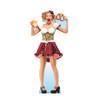 Life-size cardboard standee of a Bar Maiden Pretzel.