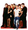 Life-size cardboard standee of the Friends characters. Sold as set of two with model.