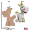 Buttercup - Toy Story 4 Cardboard Cutout Front and Back View
