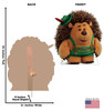 Mr Prickle Pants - Toy Story 4 Cardboard Cutout Front and Back View