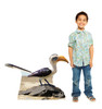 Life-size cardboard standee of Zazu from Disney's live action film The Lion King Lifesize
