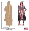 Audrey - Disney's Descendants 3 Cardboard Cutout Front and Back View