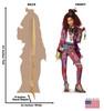 Celia - Disney's Descendants 3 Cardboard Cutout Front and Back View