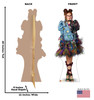 Dizzy - Disney's Descendants 3 Cardboard Cutout Front and Back View